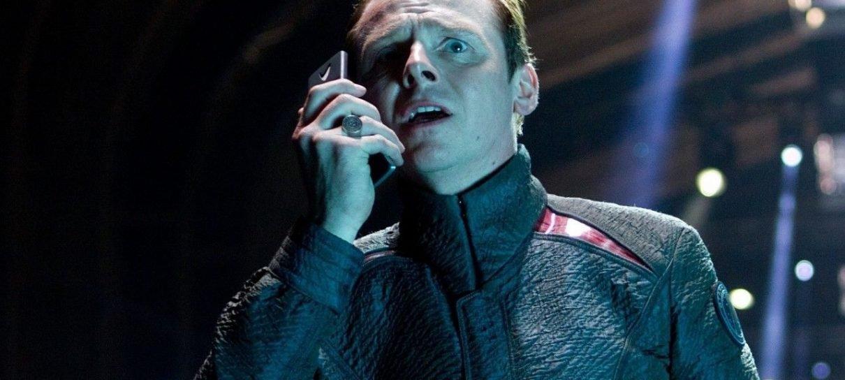 Simon Pegg e Justin Lin não estão satisfeitos com o trailer de Star Trek: Sem Fronteiras