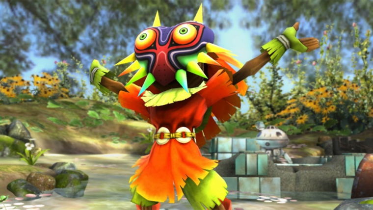 Novo trailer de Hyrule Warriors Legends foca no Skull Kid