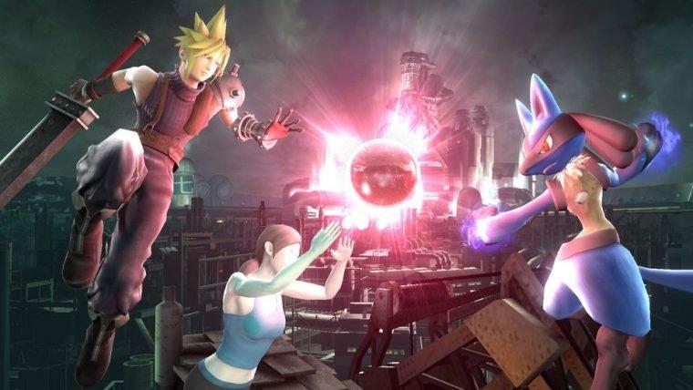 Cloud será disponibilizado em Super Smash Bros hoje