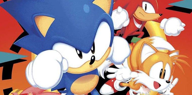 Nova HQ do Sonic homenageia era 16-bits do personagem
