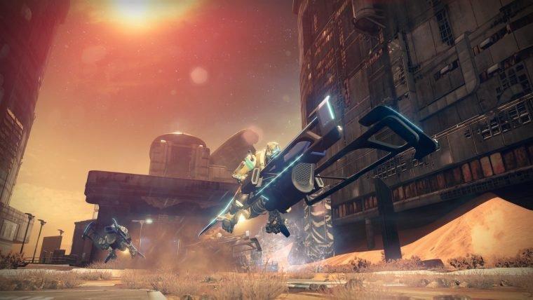 Destiny agora tem um modo de corrida de Sparrows