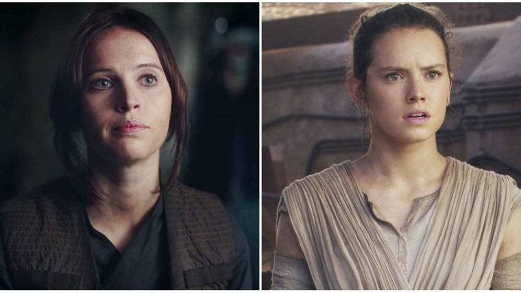 Daisy Ridley responde teorias de que Jyn é mãe da Rey