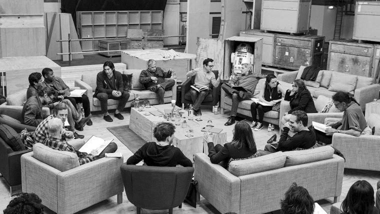 Blu-Ray de Star Wars vai mostrar o elenco lendo o roteiro pela primeira vez