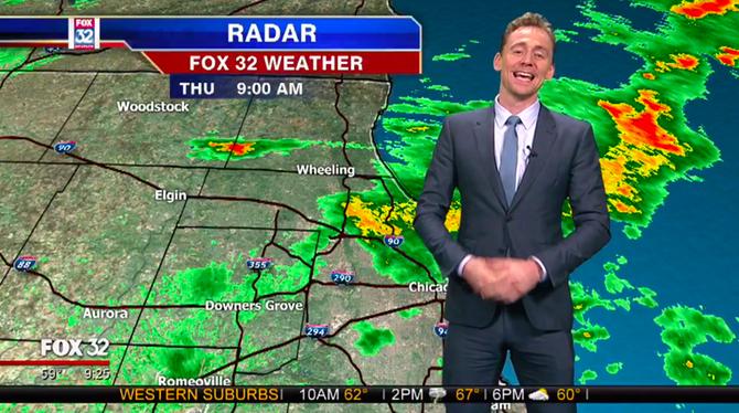 Loki faz previsão do tempo e culpa Thor pelas tempestades