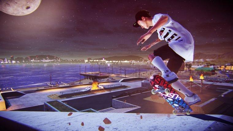 Veja os itens exclusivos para PlayStation de Tony Hawk's Pro Skater 5