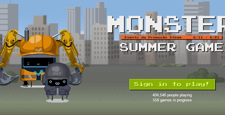 Começou o Summer Sale do Steam! Oh God....