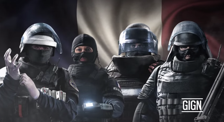 Trailer apresenta os franceses de Rainbow Six: Siege