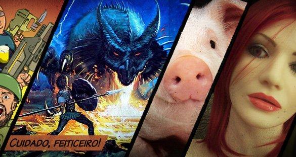 Dragões, porcos e ruivas!