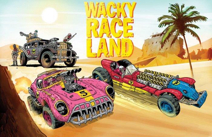 Wacky Raceland DC Comics