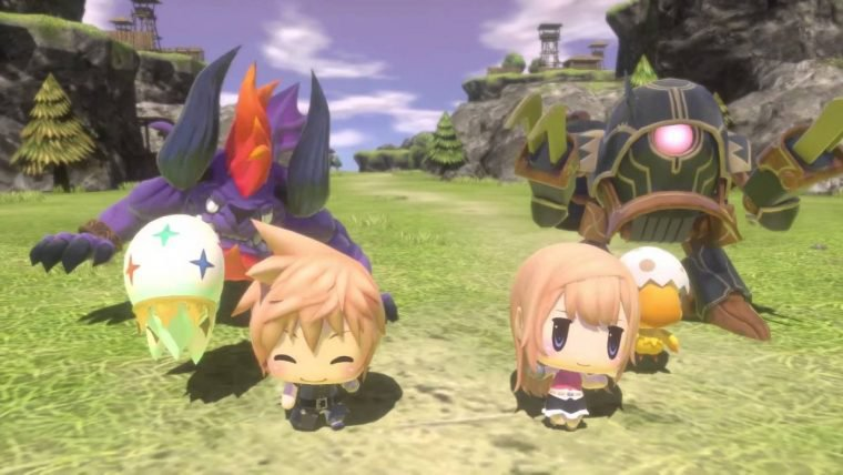 World of Final Fantasy ganha novo trailer