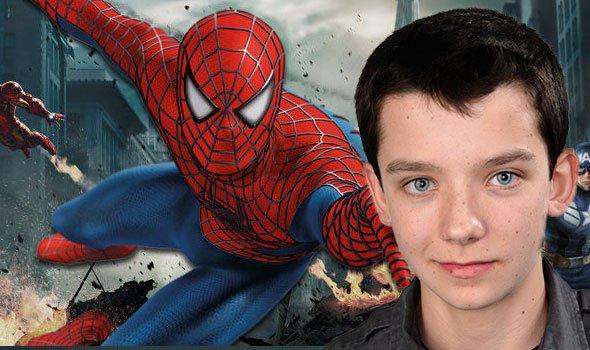 Asa Butterfield é o favorito da Marvel para ser o novo Homem-Aranha