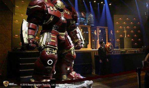 Armadura Hulk Buster em tamanho real custa 21 mil dólares