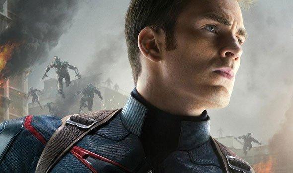 Pôster do Capitão América em Os Vingadores 2