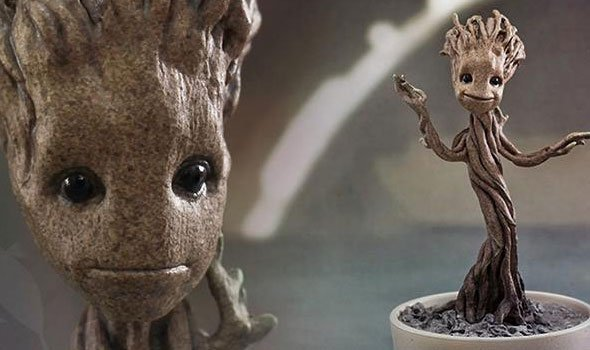 Hot Toy revela a action figure do Baby Groot