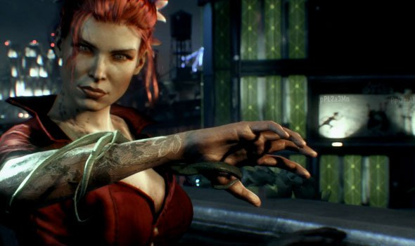 Hera Venenosa e Batman em novo gameplay de Arkham Knight