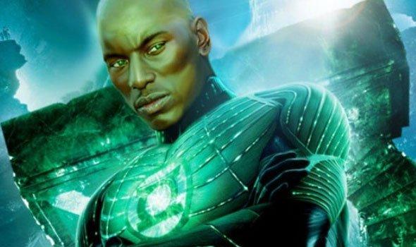 Ator Tyrese Gibson diz que é o novo Lanterna Verde