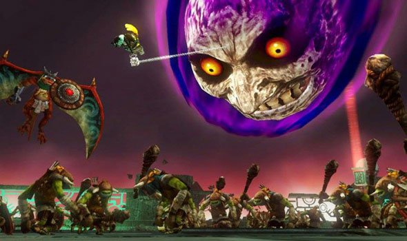Trailer do DLC Majora's Mask para Hyrule Warriors
