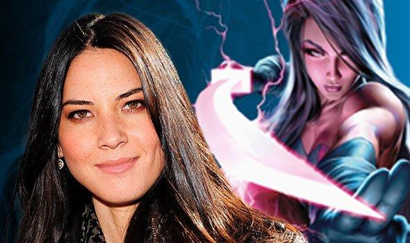 Olivia Munn confirmada como Psylocke em X-Men: Apocalipse