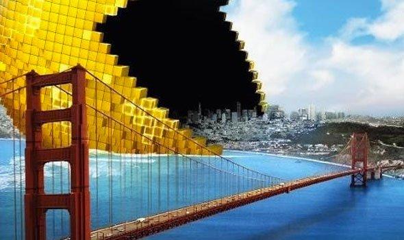 Pixels ganha quatro cartazes do filme