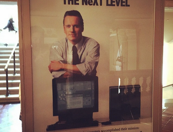Primeira imagem de Michael Fassbender como Steve Jobs