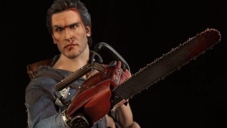 Figure do Ash Williams de Evil Dead é groovy!