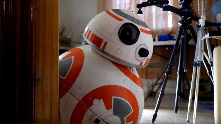 Faça seu próprio BB-8 em tamanho real e totalmente funcional