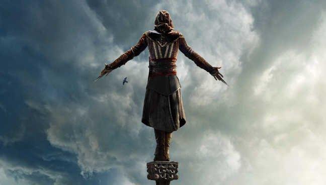 Assassin's Creed | Michael Fassbender está no topo do mundo em novo pôster