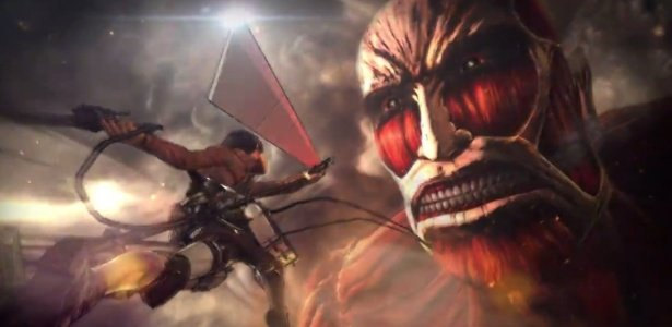 Game de Attack on Titan exclusivamente para consoles Sony