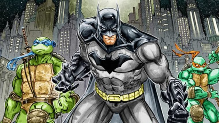 [SDCC] Batman e Tartarugas Ninja fazem parceria em nova HQ