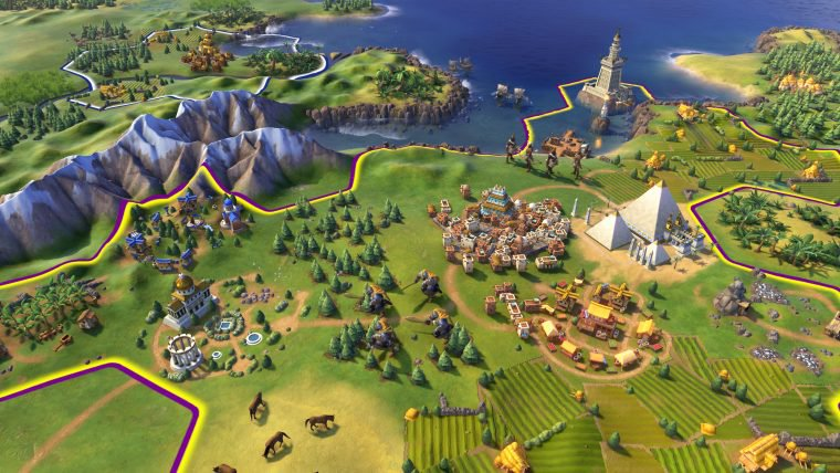Civilization VI é anunciado com trailer