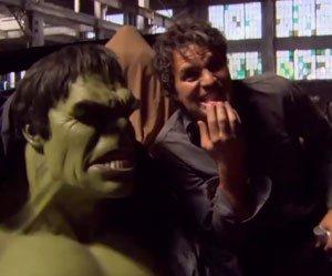 Os Vingadores: por trás dos efeitos do Hulk!