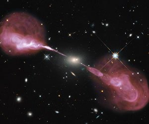 Perca o fôlego com esta super imagem da galáxia Hércules A