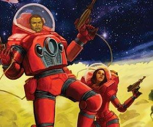 Confira a capa de Space Dragon, o RPG de ficção-científica pulp do Old Dragon!