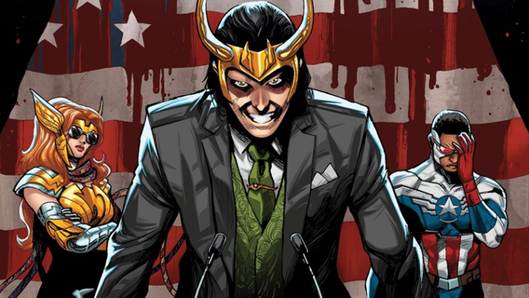 Loki vai concorrer à presidência em nova HQ da Marvel