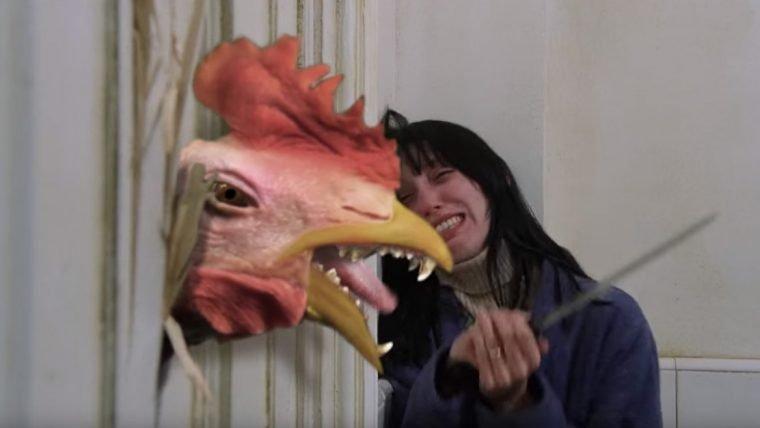 The Chickening é uma versão de O Iluminado com galinhas e drogas