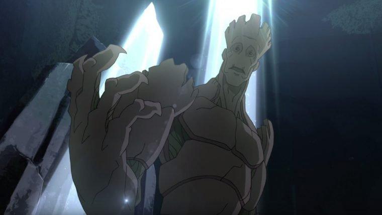 Animação de Guardiões da Galáxia revela a origem de Groot