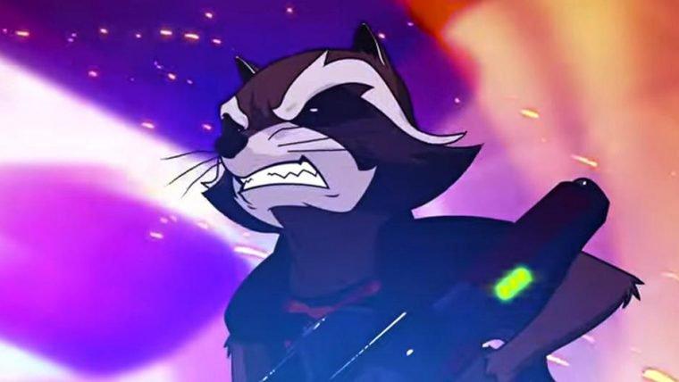 Novo teaser da animação de Guardiões da Galáxia mostra a origem de Rocket Raccoon