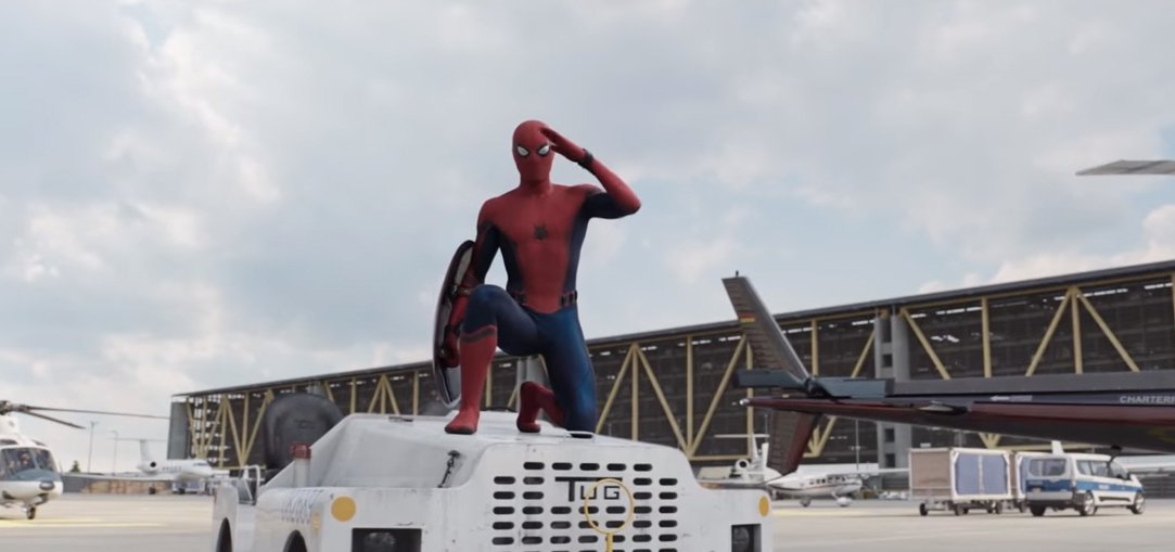 Homem-Aranha mostra lado fanboy no teaser de Guerra Civil
