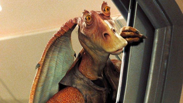 Jar Jar Binks é triturado em episódio especial de Star Wars de Will it Blend