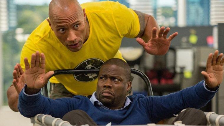 Kevin Hart e Dwayne Johnson estão em negociação para o remake de Jumanji