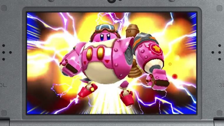 Nintendo anuncia Kirby: Planet Robobot para o 3DS