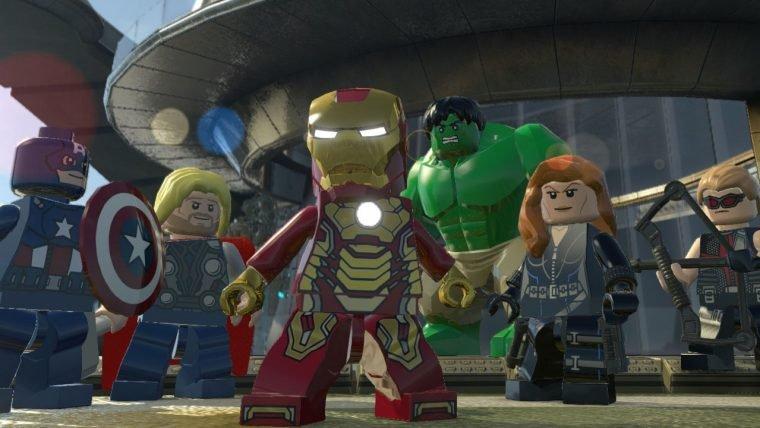 Jogamos LEGO Marvel's Avengers