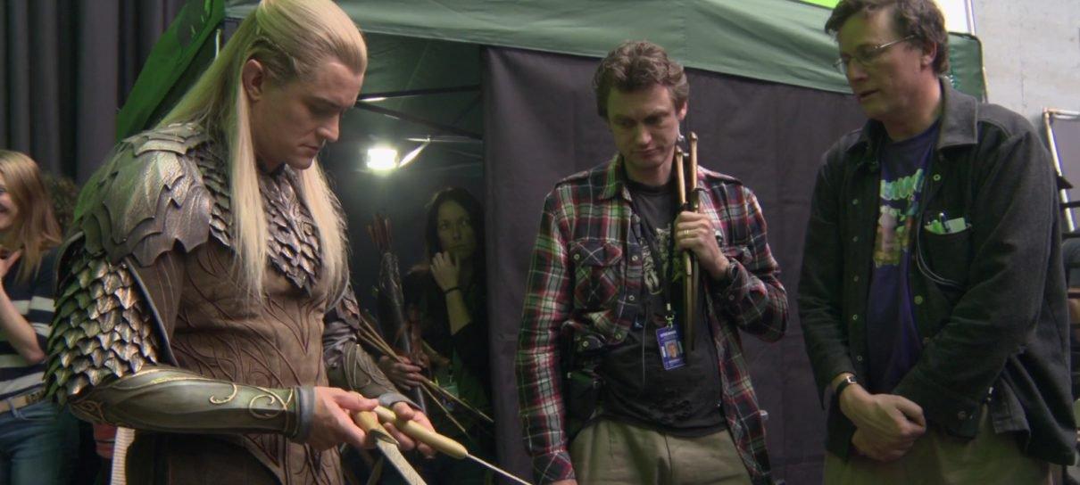 Extra da edição estendida de O Hobbit fala sobre as armas de Legolas e Tauriel