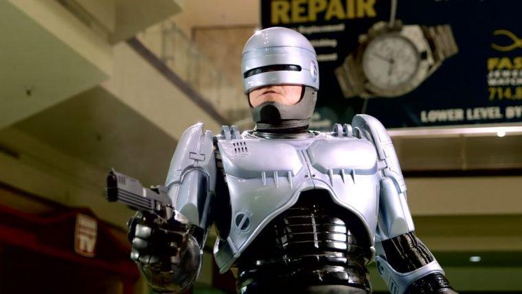 Robocop vira segurança de shopping em vídeo feito por fã