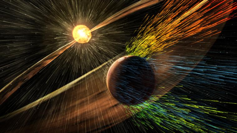 Sonda MAVEN está ajudando a solucionar um mistério sobre a atmosfera de Marte