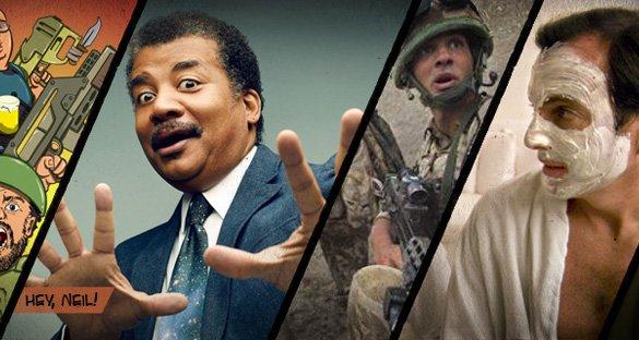 Cosmos, guerras e homens!