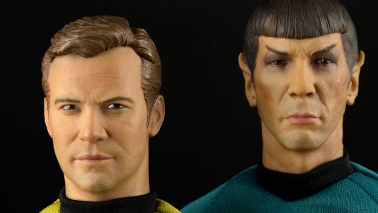 É apenas lógico querer esses figures do Kirk e do Spock