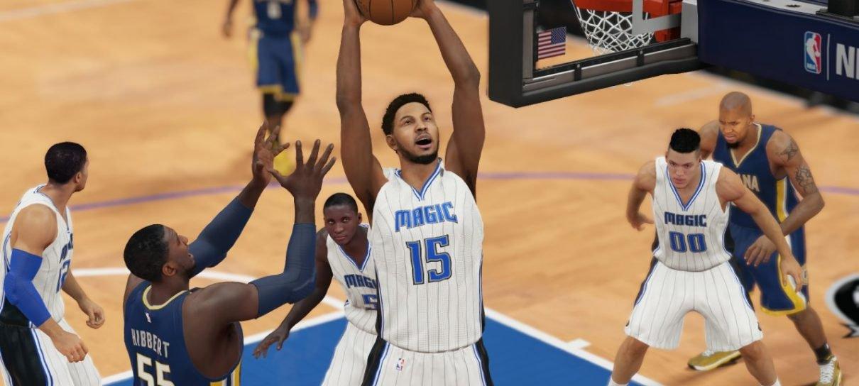 Novo vídeo mostra mais do gameplay de NBA 2K16