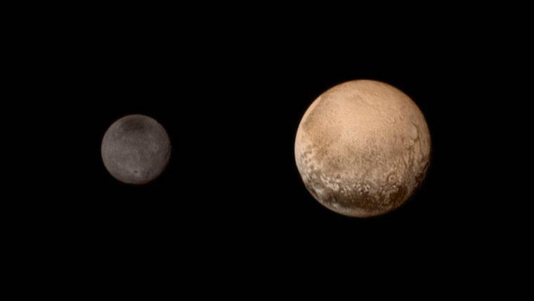 Plutão e Caronte nunca estiveram tão nítidos para a humanidade