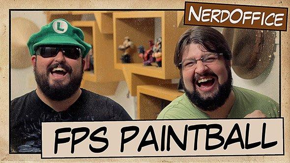 Carnanerd 2013 FPS Paintball e mistério de Django